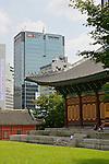 Deoksugung Palace & Modern Buildings