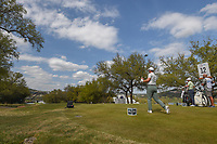 Paul Casey (GBR) watches his tee shot on 12 during day 2 of the World Golf Championships, Dell Match Play, Austin Country Club, Austin, Texas. 3/22/2018.<br /> Picture: Golffile | Ken Murray<br /> <br /> <br /> All photo usage must carry mandatory copyright credit (&copy; Golffile | Ken Murray)