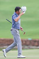 David Lipsky (USA) on the 18th during the final round of the Alfred Dunhill Championship, Leopard Creek Golf Club, Malelane, South Africa. 16/12/2018<br /> Picture: Golffile | Tyrone Winfield<br /> <br /> <br /> All photo usage must carry mandatory copyright credit (&copy; Golffile | Tyrone Winfield)