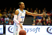 GRONINGEN - Basketbal, Donar - Den Helder Suns, Martiiniplaza,  kwartfinale playoff, seizoen 2018-2019,  30-04-2019,  Donar speler Teddy Gipson