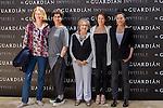 Marta Etura, Elvira Minguez, Patricia López, Susi Sánchez and Itziar Aizpuru during the photocall of end of filming El Guardian Invisible.  May 31,2016. (ALTERPHOTOS/Rodrigo Jimenez)