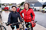Hazel Devane and Bernie O'Shea at the Stephenie O'Sullivan Memorial Cycle at Milton on Sunday.