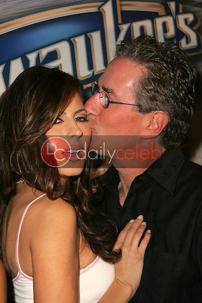 """Kerri Kasem and Jack Silver<br /> at """"Milwaukee's Best"""" Bash hosted by 97.1 Free FM's """"Two Chicks and a Bunny,"""" Playboy Mansion, Beverly Hills, CA 02-25-06<br /> <br /> David Edwards/DailyCeleb.com 818-249-4998"""