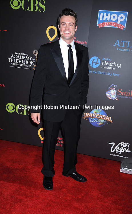 Daniel Goddard  arriving at the 38th Annual Daytime Emmy Awards  on June 19, 2011 at The Las Vegas Hilton in Las Vegas Nevada. ..