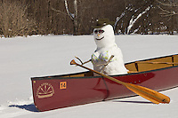&quot;Snowgal Canoeing&quot;<br />