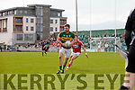 Alan Fitzgerald Kerry in action against Eoin Cadogan Cork in the National Football league in Austin Stack Park, Tralee on Sunday.