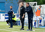 Queen of the South v St Johnstone&hellip;18.08.18&hellip;  Palmerston    BetFred Cup<br />Tommy Wright shouts instructions<br />Picture by Graeme Hart. <br />Copyright Perthshire Picture Agency<br />Tel: 01738 623350  Mobile: 07990 594431