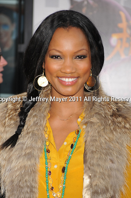 """UNIVERSAL CITY, CA - OCTOBER 02: Garcelle Beauvais attends the """"Real Steel"""" Los Angeles Premiere at Gibson Amphitheatre on October 2, 2011 in Universal City, California."""