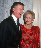 Roddy McDowell, Jane Powell, 1992 Photo By Michael Ferguson/PHOTOlink