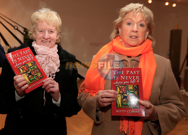 Bridget Dawe and Maura Carolan at the launch of Betty Clarke first novel<br /> Picture: Fran Caffrey www.newsfile.ie