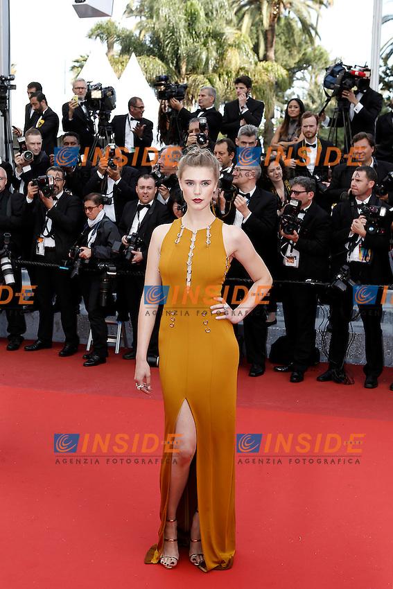 Gaia Weiss<br /> Festival di Cannes 2016 <br /> Foto Panoramic / Insidefoto