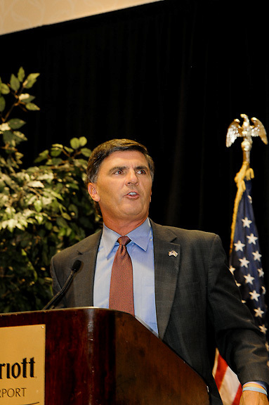 2010 Maryland Disabilities, Gubernatorial Forum between Mayor Ehrlich and Mayor Martin O'Malley. Professional Image Event Photography by John Drew.