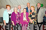 Pictured at the Official opening of the Dan Paddy Andy Festival on Saturday night were the hard working commettee, Front Row: L-R,Chris Quinn, Mary Mangan, Lyreacrompane and Helen Schisas, Brisbane, Australia. Back row: L-R, Kay O'Leary, Michael Mangan, Joe Harrington,Lyreacrompane, and special guest Eoin Hand.