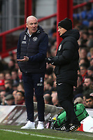 QPR Manager, Mark Warburton during Brentford vs Queens Park Rangers, Sky Bet EFL Championship Football at Griffin Park on 11th January 2020