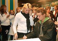 19-2-07,Tennis,Netherlands,Rotterdam,ABNAMROWTT, Autographsession with Hewitt
