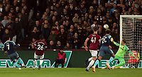 Son Heung-Min of Tottenham Hotspur scores the first goal during West Ham United vs Tottenham Hotspur, Caraboa Cup Football at The London Stadium on 31st October 2018