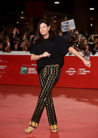 La produttrice statunitense Emma Tillinger Koskoff posa sul red carpet per la presentazione del film 'Irishman' alla 14^ Festa del Cinema di Roma all'Aufditorium Parco della Musica di Roma, 21 ottobre 2019.<br /> US producer Emma Tillinger Koskoff poses with US producer Emma Tillinger Koskoff on the red carpet to present his movie 'Irishman' during the 14^ Rome Film Fest at Rome's Auditorium, on 21 October 2019.<br /> UPDATE IMAGES PRESS/Isabella Bonotto