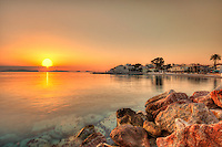 Sunrise from Spetses island, Greece