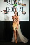Daniela Prepeliuc - Défilé d'inauguration de la 2eme Edition du Salon du Chocolat à Bruxelles. Lors du défilé chocolat on a pu apercevoir Annelies Törös (Miss Belgique 2015) ainsi que différentes personnalités de l'audio-visuel belge.  Belgique, Bruxelles, le 05 février 2015.