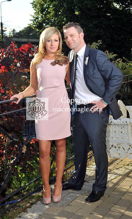 Pictured at the Randles Hotel, Elegance & Decadence Après Race Partyon Thursday evening were Fiona O'Connor and Adrian o'Sullivan from Kilcummin..Picture by Don MacMonagle..PR photo from Randles Hotel