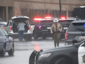 Police activity at Great Mills High School in Great Mills, Maryland where two students were wounded and one student was killed on Tuesday, March 20, 2018. <br /> Credit: Ron Sachs / CNP<br /> (RESTRICTION: NO New York or New Jersey Newspapers or newspapers within a 75 mile radius of New York City)