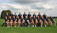 The Bath Rugby staff pose for a team photo. Bath Rugby Media Day on August 27, 2013 at Farleigh House in Bath, England. Photo by: Patrick Khachfe/Onside Images staff pose for a team photo. Bath Rugby Media Day on August 27, 2013 at Farleigh House in Bath, England. Photo by: Patrick Khachfe/Onside Images