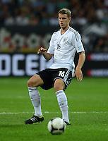 FUSSBALL Nationalmannschaft Freundschaftsspiel:  Deutschland - Argentinien             15.08.2012 Lars Bender (Deutschland)