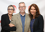 Robyn Goodman, Sam Rudy and Sarah Stern attends the 2019 Off Broadway Alliance Awards Reception at Sardi's on June 18, 2019 in New York City.