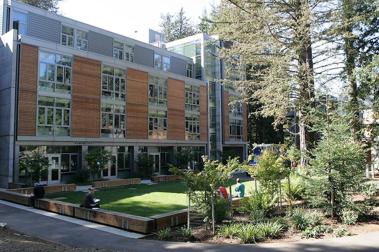 October 20, 2008; Santa Cruz, CA, USA; Exterior view of the Humanities Building on the campus of UC Santa Cruz. Photo by: Phillip Carter