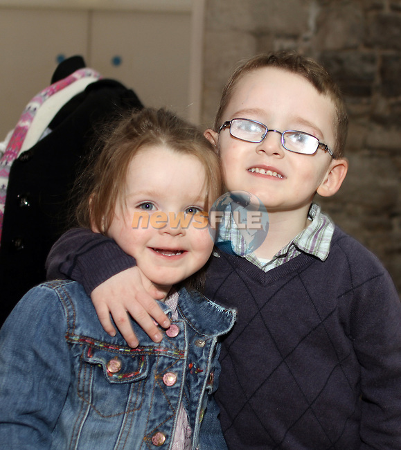 Jack and Kayla Lambe at the Barney Show in Scotch Hall...(Photo credit should read Jenny Matthews/www.newsfile.ie)....This Picture has been sent you under the conditions enclosed by:.Newsfile Ltd..The Studio,.Millmount Abbey,.Drogheda,.Co Meath..Ireland..Tel: +353(0)41-9871240.Fax: +353(0)41-9871260.GSM: +353(0)86-2500958.email: pictures@newsfile.ie.www.newsfile.ie.