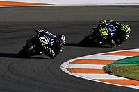 16th November 2019; Circuit Ricardo Tormo, Valencia, Spain; Valencia MotoGP, Qualifying Day; Maverick Vinales (Monster Yamaha)   - Editorial Use