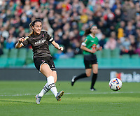 3rd November 2019; Aviva Stadium, Dublin, Leinster, Ireland; FAI Cup Womens Final Football, Peamount United versus Wexford Youth Womens Football Club; Wexford Youths captain Kylie Murphy scores in the 64th minute to give her team a 3-2 lead - Editorial Use