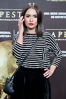 Giulia Charm attends to the premiere of 'La Peste' at Callao Cinemas in Madrid, Spain. January 11, 2018. (ALTERPHOTOS/Borja B.Hojas) /NortePhoto.com NORTEPHOTOMEXICO