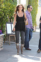 Jennifer Love Hewitt leaving lunch in Studio City, Los Angeles, 25.05.2012...Credit: Correa/face to face /MediaPunch Inc. ***FOR USA ONLY***