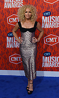 NASHVILLE, TENNESSEE - JUNE 05: Kimberly Schlapman of Little Big Town attends the 2019 CMT Music Awards at Bridgestone Arena on June 05, 2019 in Nashville, Tennessee. <br /> CAP/MPI/IS/NC<br /> ©NC/IS/MPI/Capital Pictures