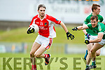 Alan Fitzgerald West Kerry in action against Denis Sheahan Legion in the Quarter Final of the Kerry Senior County Championship at Austin Stack Park on Sunday.