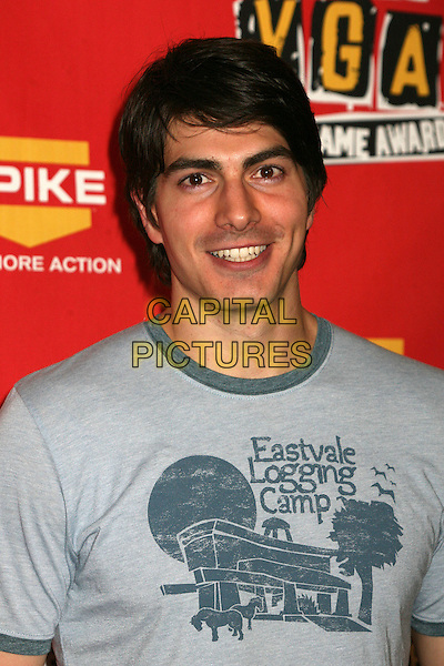 BRANDON ROUTH.Spike TV's 2006 Video Game Awards at the Galen Center - Press Room, Los Angeles, California, USA..December 8th, 2006.headshot portrait.CAP/ADM/BP.©Byron Purvis/AdMedia/Capital Pictures