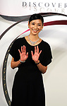 """December 6 2017, Tokyo, Japan - Japanese actress Hitomi Kuroki wears more than 1 billion yen diamond jewlelry of British jeweler Graff at the Isetan department store in Tokyo on Wednesday, December 6, 2017 for the opening of Graff's sales promotion """"Discover Spiral"""". Kuroki wore 62.98 ct diamonds necklace, 33.0 ct diamonds bracelet, 16.86 ct diamonds ring and 14.63 ct a pair of diamonds earrings.      (Photo by Yoshio Tsunoda/AFLO) LWX -ytd"""