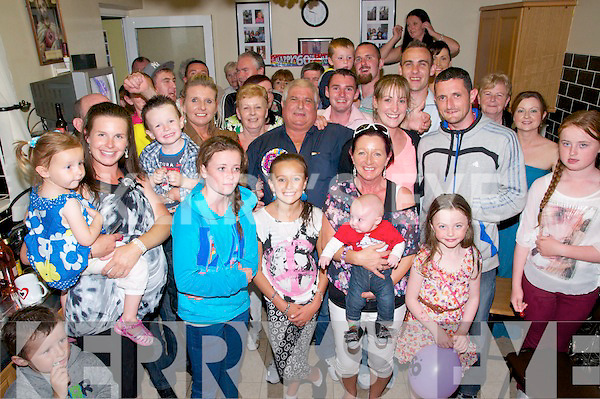 60th Birthday: Patsy O'Connor, Feale Drive, Listowel celebrating his 60th birthday at a surprise party on Saturday night with family & friends.