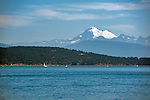 A view of Mount Baker from Anacortes Ferry Landing