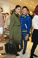Caroline Issa and Tommy Ton