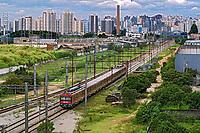 Transporte em trem da CPTM. Sao Paulo. 2017. Foto de Juca Martins.