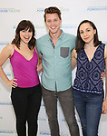 Krysta Rodriguez, Dave Thomas Brown, Lauren Patten attends the Media Day for 33rd Annual Powerhouse Theater Season at Ballet Hispanico in New York City.