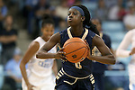 02 January 2015: ETSU's Shamauria Bridges. The University of North Carolina Tar Heels hosted the East Tennessee State University Buccaneers at Carmichael Arena in Chapel Hill, North Carolina in a 2014-15 NCAA Division I Women's Basketball game. UNC won the game 95-62.