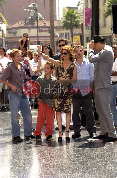 Susan Sarandon with sons Jack and Miles, Ryan Phillippe and Tim Robbins