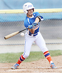 TORRINGTON CT. 28 July 2017-072817SV03-#2 Larry Zapata of Wolcott Storm takes a swing at the ball in the 1st inning against Dallas Forth Worth during the Mickey Mantle World Series in Torrington Friday.<br /> Steven Valenti Republican-American