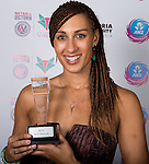 27/06/2014<br /> Netball ANZ Championship 2014<br /> Sharelle McMahon Medal night<br /> <br /> <br /> Photo: Grant Treeby<br /> www.treebyimages.com.au