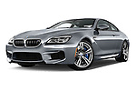 Stock pictures of low aggressive front three quarter view of 2016 BMW M6 Coupe - 3 Door Coupe Low Aggressive