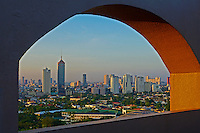 Manila Skyline at Sunset, Philippines