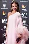 Paula Echevarria attends red carpet of Feroz Awards 2018 at Magarinos Complex in Madrid, Spain. January 22, 2018. (ALTERPHOTOS/Borja B.Hojas)